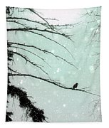Abstract Faded Winter Tapestry