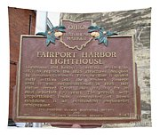 Fairport Harbor Lighthouse Tapestry