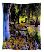 Fairyland Of Gnomes Tapestry