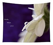 Faith Hope Love Tapestry