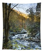 Fall Along Citico Creek Tapestry