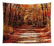 Fall At Cheesequake Tapestry