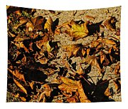 Fall Cleanup Tapestry