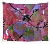 Fall Dogwood Leaf Colors 2 Tapestry