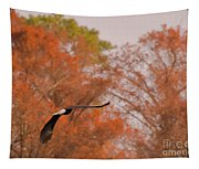 Fall Eagle Tapestry