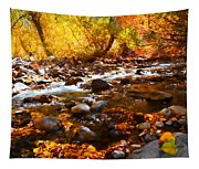 Fall Flow At Mcgee Creek Tapestry