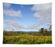 Fall Foliage Hilltop Landscape Tapestry