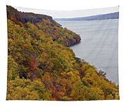 Fall Foliage On The New Jersey Palisades II Tapestry
