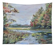 Fall Impressions Tapestry