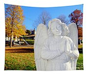 Fall In Angel Tapestry