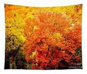 Fall In Full Bloom Tapestry