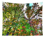 Fall Is Here Tapestry