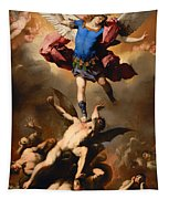 Fall Of The Rebel Angels Tapestry