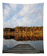 Fall On The Lake Tapestry