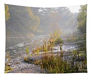 Fall On The River Tapestry