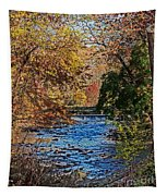 Fall Stream Tapestry