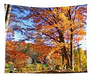 Fall Trees Tapestry