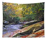 Fall Waterfall Tapestry
