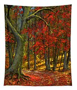 Fallen Leaves Tapestry