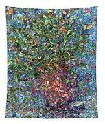 Falling Flowers Tapestry