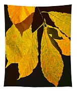 Fall's Purest Gold Tapestry