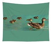 Family Flotilla 2 Tapestry
