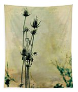 Family Of Teasels Tapestry