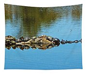 Family Of Turtles Tapestry