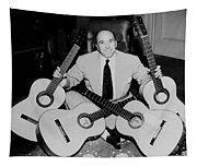 Famous Guitarist Carlos Montoya 1953 Tapestry