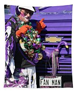 Fan Man 1 Tapestry