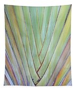 Fan Palm Abstract 2 Tapestry