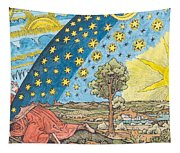 Fantastic Depiction Of The Solar System Tapestry
