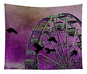 Fantasy Ferris-wheel Tapestry