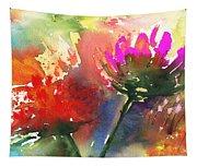 Fantasy Flowers Tapestry