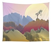 Fantasy Mountain Tapestry
