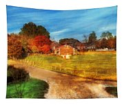 Farm - Barn -  A Walk In The Country Tapestry