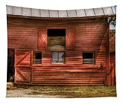 Farm - Barn - Visiting The Farm Tapestry
