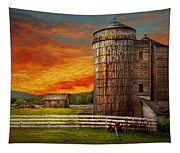 Farm - Barn - Welcome To The Farm  Tapestry