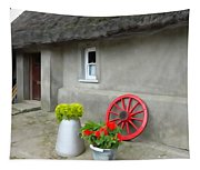 Farm Cottage Tapestry