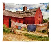 Farm - Laundry - The Clothes Line Tapestry