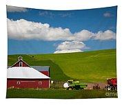 Farm Machinery Tapestry