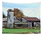 Farm - The Old Barn Tapestry