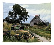 Farmed Out Tapestry