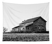 farmhouse in spring - Old Barns Tapestry