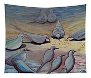 Feed The Birds Tapestry