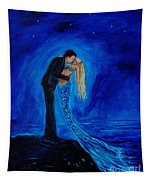 Feeling Safe In Your Arms Tapestry