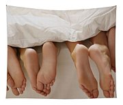 Feet In Bed Tapestry