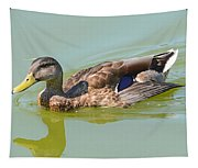 Female Mallard Duck  Tapestry