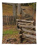 Fence In Autumn Tapestry