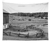Fence Line Monochrome Tapestry